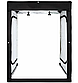 Лайтбокс (фотобокс), кублайт с LED светом CY-160 для предметной фотосъемки 160 x 120 x 80 см, фото 2