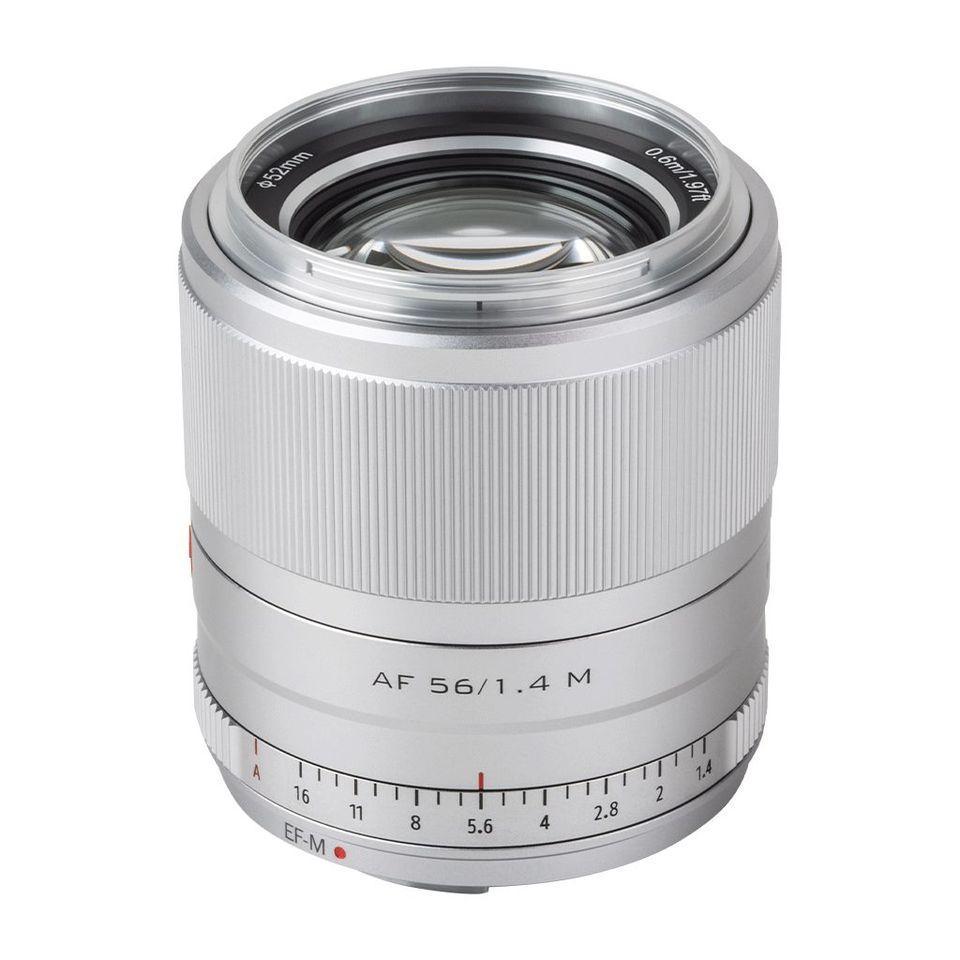 Об'єктив VILTROX 56mm f/1.4 M STM (AF 56/1.4 M) (Canon EF-M) - автофокусный