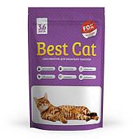 Силикагелевый наполнитель для туалетов котов и кошек Best Cat Purple Lawender (3.6 л.)