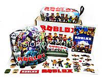 Бокс Роблокс с шапкой (пенал, блокнот, кошелек, наклейки, шапка) – отличный подарок любителям игры Roblox, фото 1