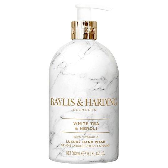 Жидкое мыло для рук Baylis & Harding White tea & Neroli, 500 мл