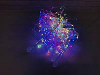 Світлодіодна гірлянда на вікно ВОДОСПАД 3x3 метри 480 W-3 led Curtain Light 220 v холодний світ, фото 1