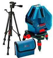 Лазерный нивелир Bosch GLL 5-50 X + штатив BT 150 + чехол, фото 1