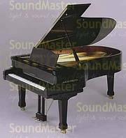 Акустический рояль August Foerster 215 Цвет - чёрный (матовый)
