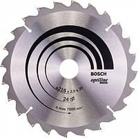 Пильный диск Bosch Optiline Wood 216×30 мм 24 зуба (2608640431)