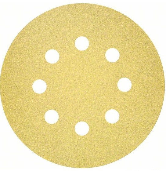 Шліфувальний лист C450 Standard for General Purpose 125 мм, 50 аркушів К240, 8 отворів (2608621746)