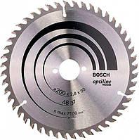 Пильный диск Bosch Expert for Wood 200×2,8×30, 48 ATB (2608644053)