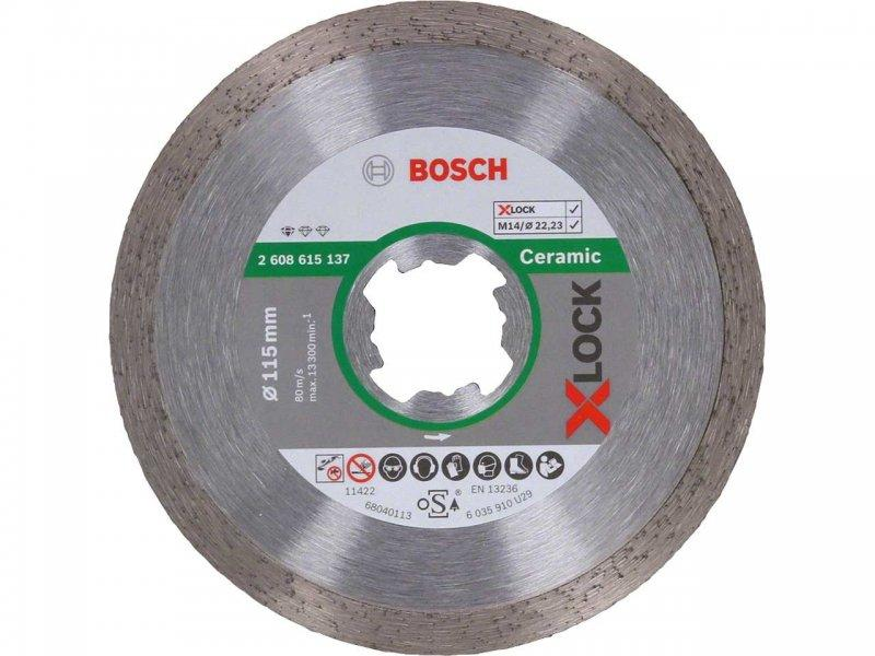 Алмазный диск X-LOCK Standard for Ceramic 125 мм по керамике (2608615138)