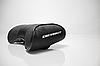 Автомобильная подушка подголовник с маркой авто Chevrolet чёрная, фото 2