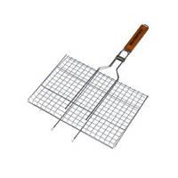 Решетка нержавеющая прямоугольная для гриля - барбекю 460*260 мм (шт)