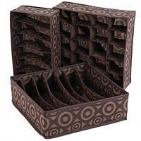 Органайзеры для хранения белья Traum коричневый