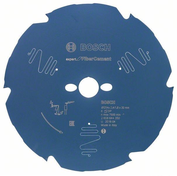 Пильный диск Bosch Expert for Fiber Cement 254x30x2.2/1.6x6 T