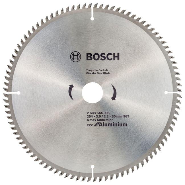 Пильный диск Bosch ECO ALU/Multi 254x30-96T (2608644395)