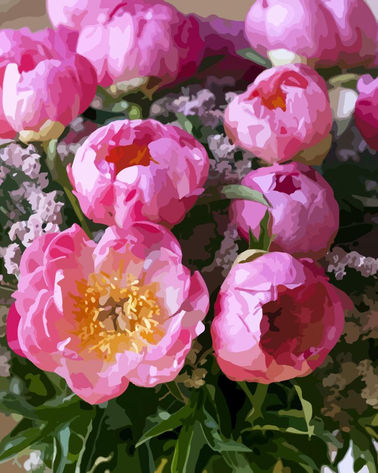 """Картина по номерам Art Craft """"Розовый шарм"""" 40*50 см 12125-AC"""