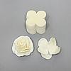 Комплект заготовок для цветов 9 Х 9 см PRO 3002 молочный, айвори