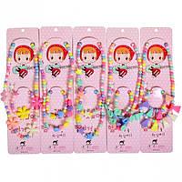 От 8 шт. Набор детской бижутерии 942/12-55 купить оптом в интернет магазине От 8 шт.