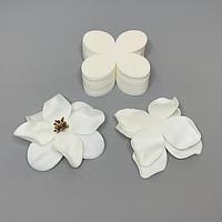 Комплект заготовок для цветов 13 Х 13 см S 2мм белый