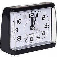 От 2 шт. Настольные часы - будильник 8831/Х2-9-1(19) с кнопкой 8,5*7,5*4 см купить оптом в интернет магазине