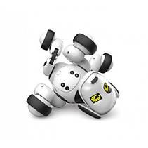 Собака-робот Zoomer 9007A Интерактивная игрушка Собачка на радиоуправлении Зумер 9007А со Светом и Звуком, фото 2