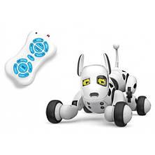Собака-робот Zoomer 9007A Интерактивная игрушка Собачка на радиоуправлении Зумер 9007А со Светом и Звуком, фото 3