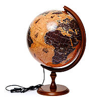 Глобус с подсветкой парусники подарочный Glowala (рус.) 320 мм 540113, фото 1