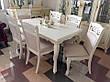 Стол обеденный деревянный Вена (Відень) Sof, цвет белый, фото 5