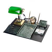 Настольный набор для руководителя мраморный VIP на 8 предметов BST 540202, фото 1