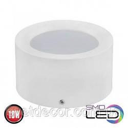 Светодиодный светильник накладной точечный цилиндр Horoz Electric Sandra-10 10W 4200К белый