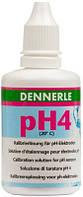 Калибровочный раствор Dennerle рН4, для калибровки pH-электродов, 50 мл