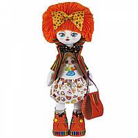 Набор для шитья куклы на льняной основе. Текстильная кукла Подружка Kukla Nova К1011