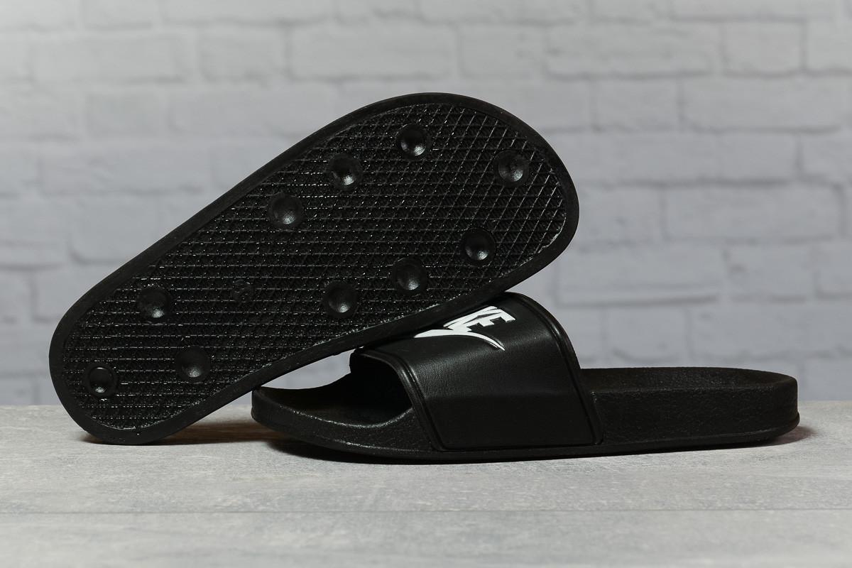 Шлепанцы женские 17352, Nike, черные, [ 38 ] р. 38-24,0см.