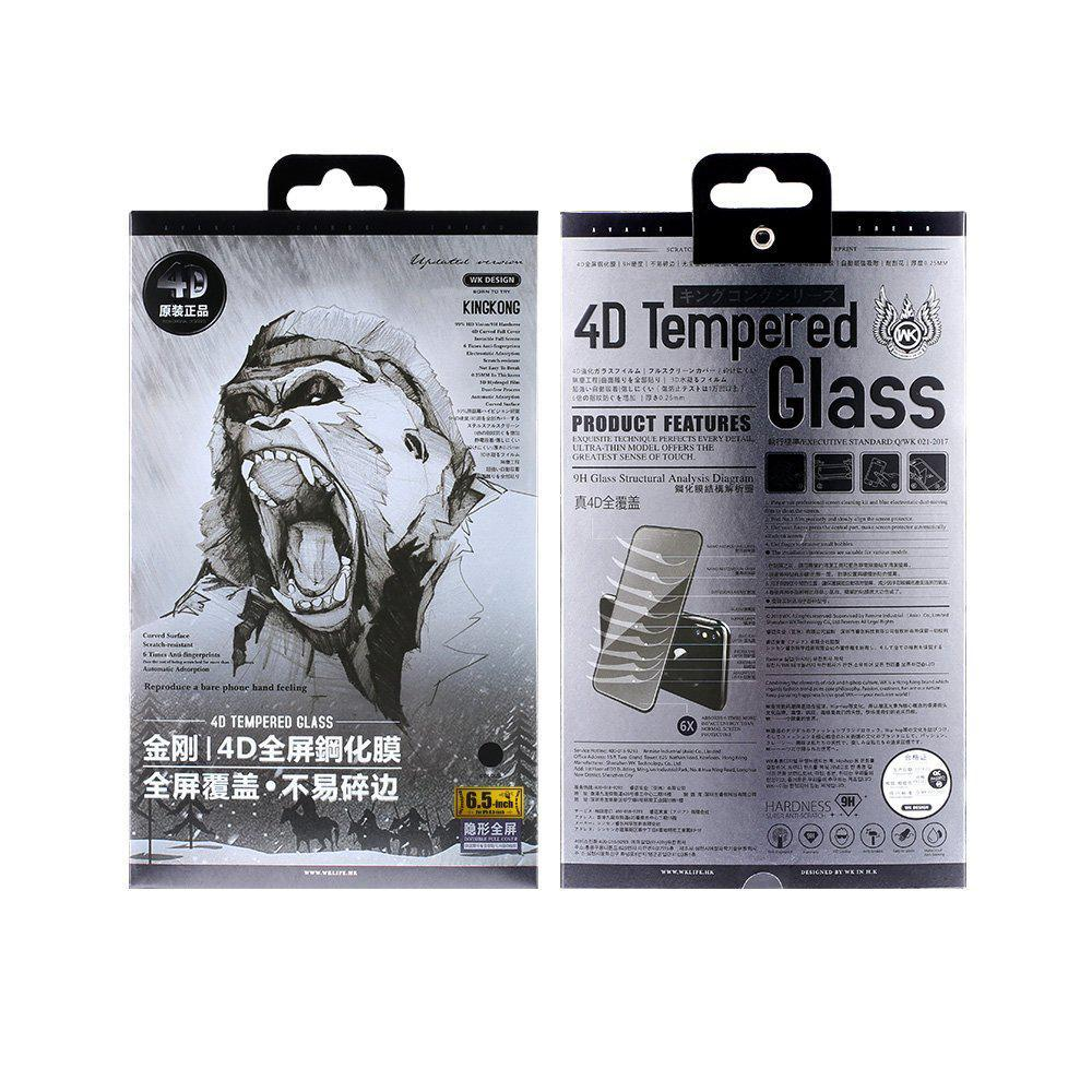 Защитное стекло WK Design Kingkong 4D Curved Screen Protector для iPhone 12 Pro Max