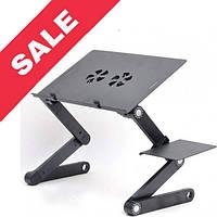 """Портативний вентилятор (охолодження) для ноутбука / нетбука (столик) """"T8"""""""