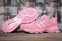 Кроссовки женские 17002, Adidas Marathon Tn, розовые, [ 37 38 39 40 41 ] р. 37-23,0см., фото 1