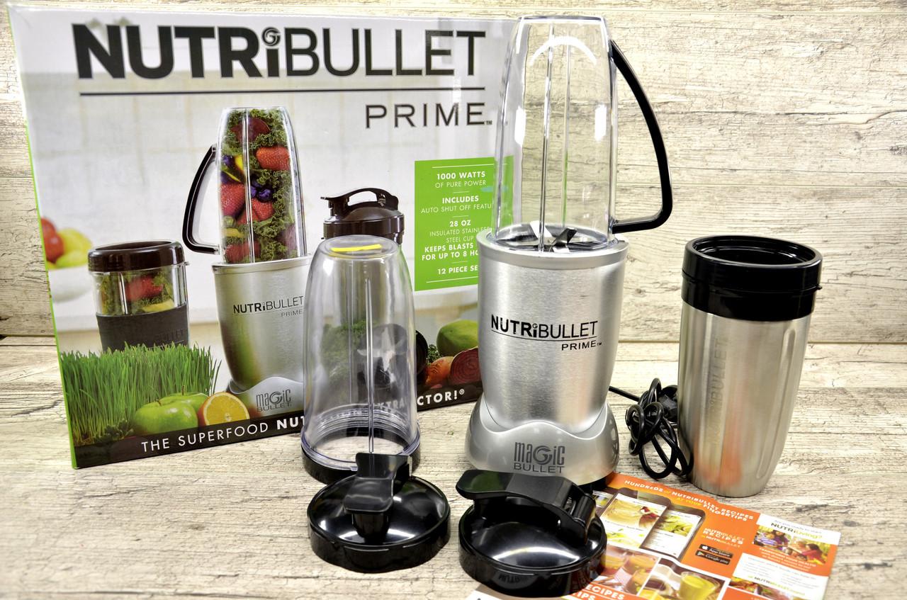 Кухонный комбайн (блендер) Nutribullet Prime Magic Bullet 1000 Вт