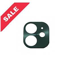 Рамка на камеру для iPhone 11 Green