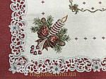 Скатерть новогодняя испанский гобелен Свеча (150х220 см.), фото 3