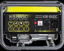 Генератор бензиновый Könner&Söhnen BASIC KSB 6500C (5,5 кВт)