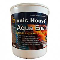 Эмаль для дерева Aqua Enamel Bionic House акриловая Арктик