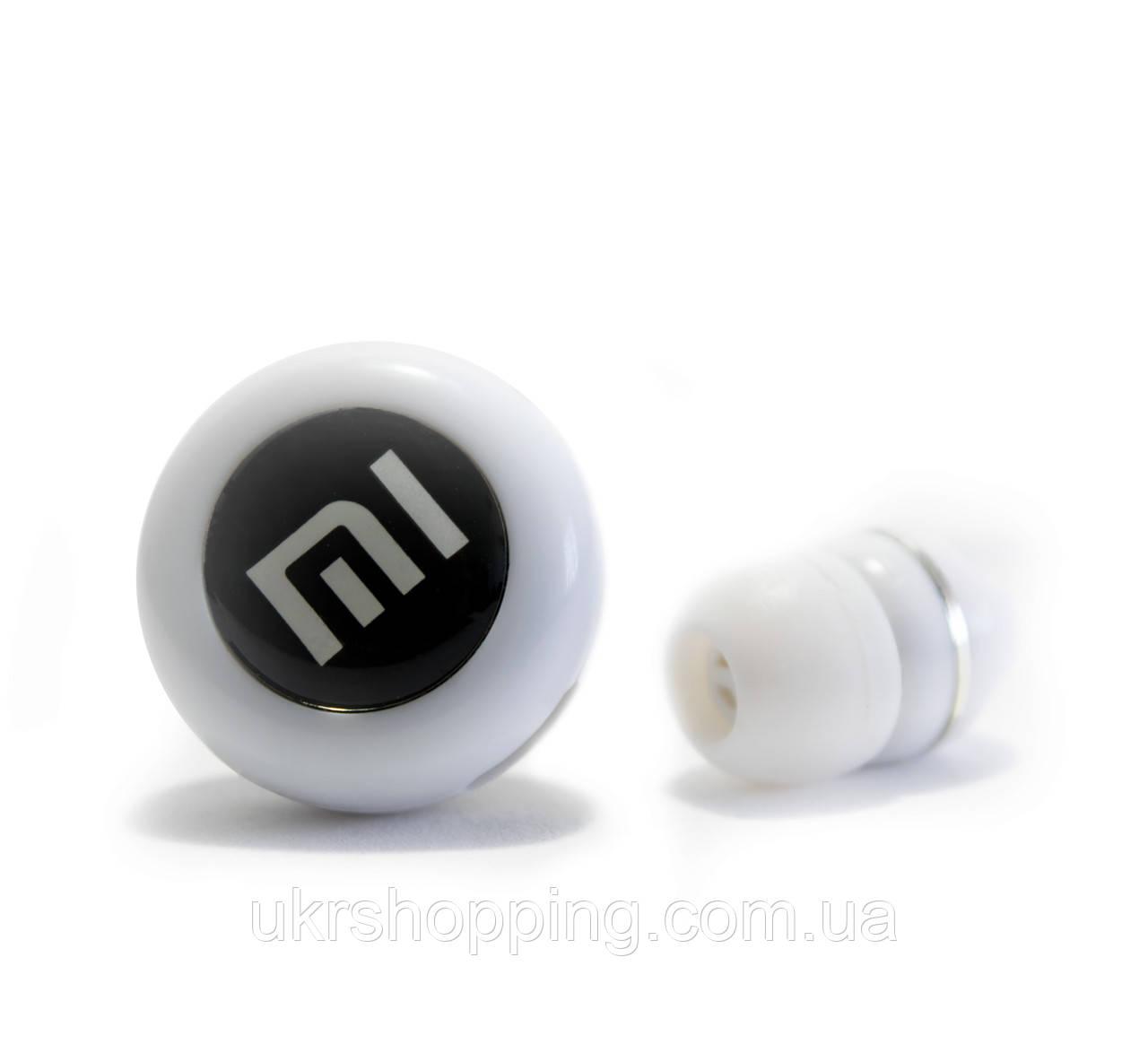 Распродажа! Bluetooth наушники для любого телефона Mi Белые - гарнитура беспроводная - просто огонь!