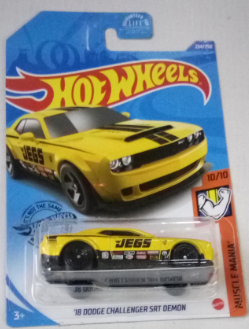 Машинка Hot Wheels 2020 '18 Dodge Challenger SRT Demon