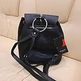 Женский кожаный рюкзак Эйфелевая башня, фото 4