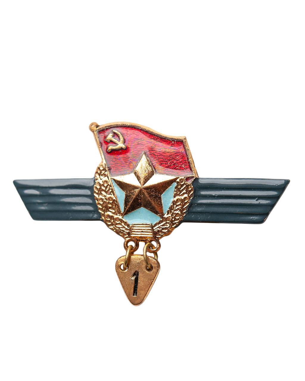 Нагрудный знак сверхсрочника СССР