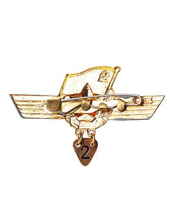 Нагрудный знак сверхсрочника СССР, фото 2