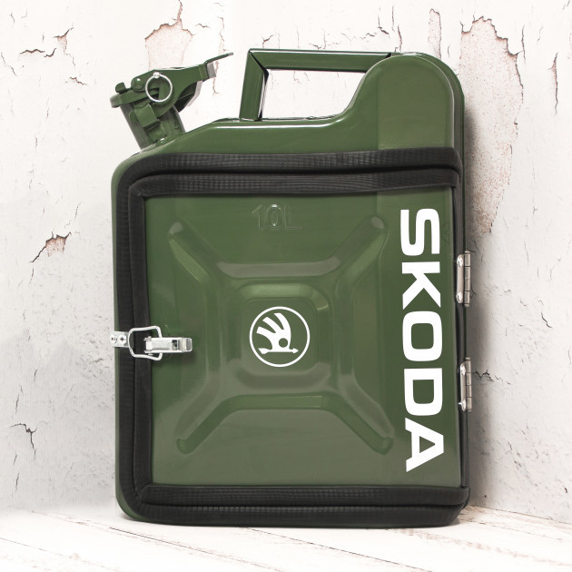 КАНІСТРА-БАР 10 л. «Skoda» Будь-яка марка авто