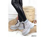 Зимние ботинки на спортивной подошве., фото 3