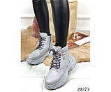 Зимние ботинки на спортивной подошве., фото 5
