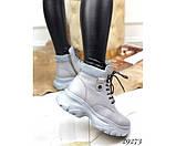 Зимние ботинки на спортивной подошве., фото 6