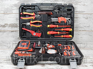 Профессиональный набор инструмента электрика 68 предметов YATO Европейский сертификат YT-39009