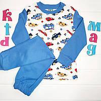 """Детская пижама для мальчика """"Стоянка автомобилей"""" на 5 и 7 лет"""
